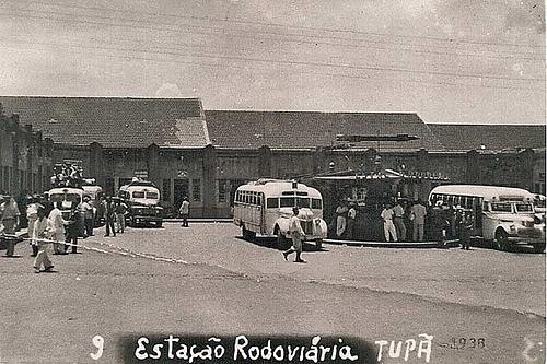 Estação Rodoviária Tupã 1938