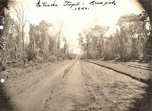 Estrada Tupã 1940