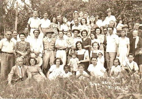 Foto em Grupo 25-12-1945