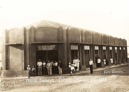 Prédio Tamoyo Tupan Julho de 1938