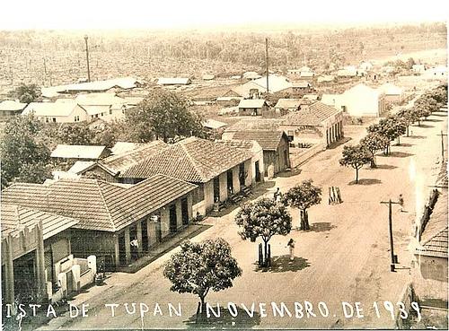 Vista de Tupan novembro de 1939