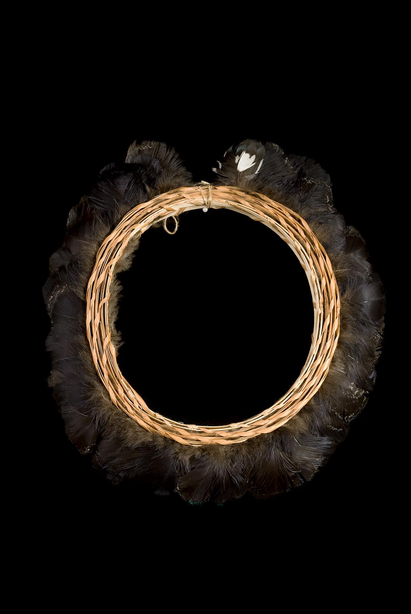 Coroa radial emplumada Yanomami