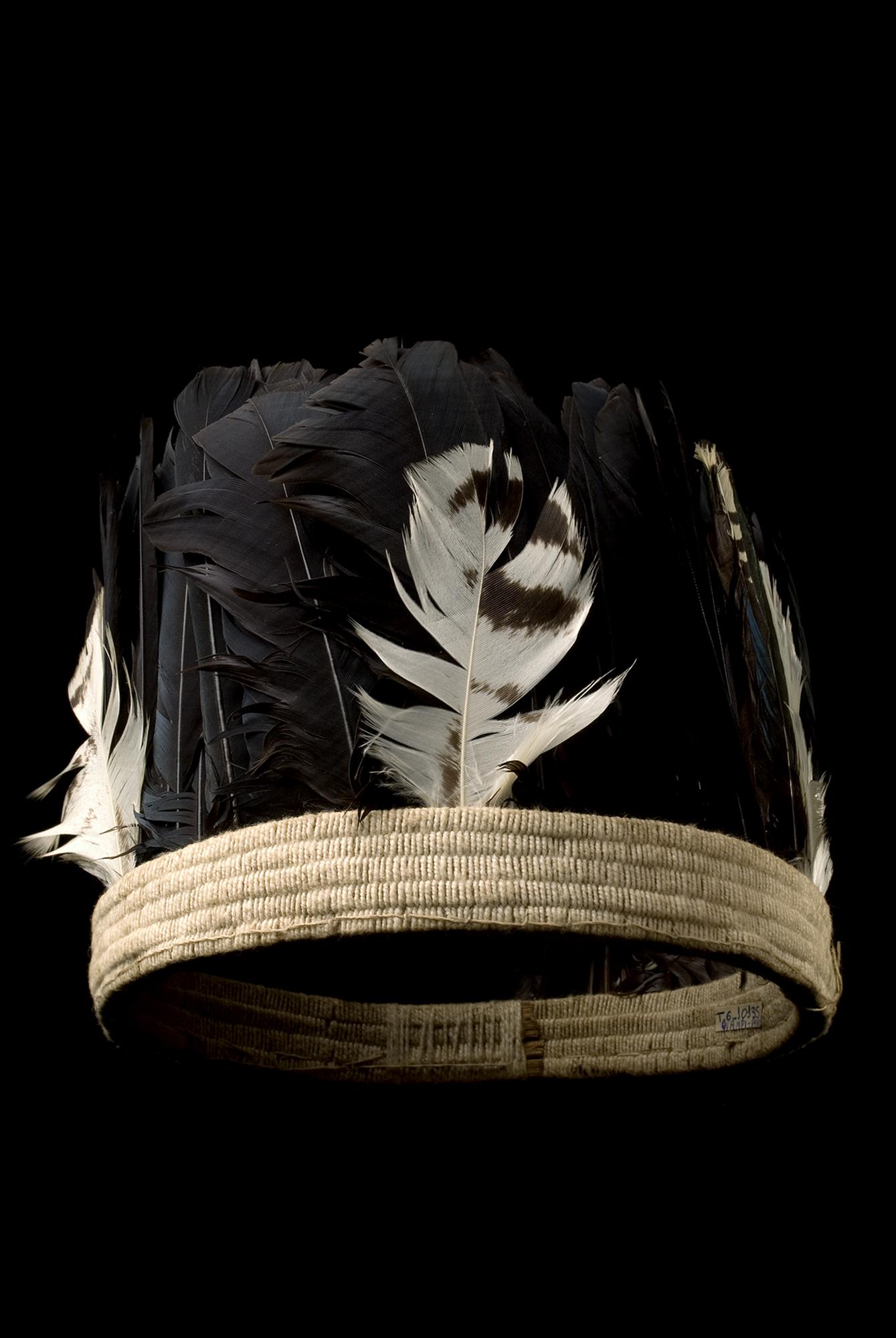 Coroa vertical emplumada Wajãpi