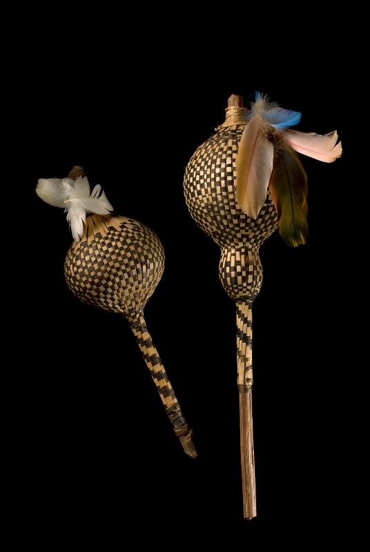 Chocalhos globulares Karajá (provavelmente)